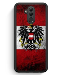 Huawei Mate 20 Lite Silikon Hülle - Österreich Splash Austria Flagge