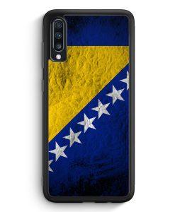 Samsung Galaxy A40 Silikon Hülle - Bosnien Splash Flagge Bosna Bosnia