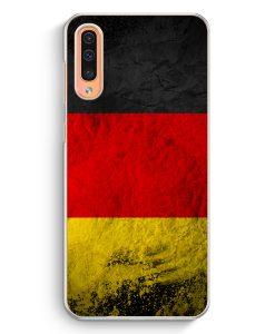 Samsung Galaxy A50 Hardcase Hülle - Deutschland Splash Flagge
