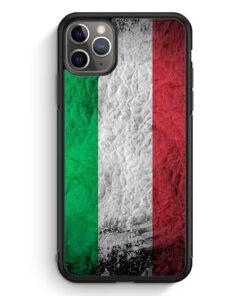 iPhone 11 Pro Silikon Hülle - Italien Splash Flagge Italia Italy