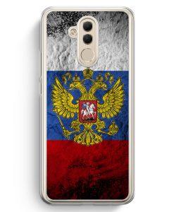 Huawei Mate 20 Lite Hardcase Hülle - Russland Splash Flagge Russia