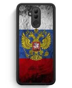 Huawei Mate 20 Lite Silikon Hülle - Russland Splash Flagge Russia