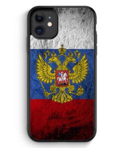iPhone 11 Silikon Hülle - Russland Splash Flagge Russia