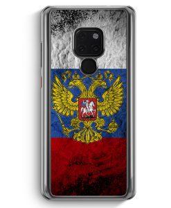 Huawei Mate 20 Hardcase Hülle - Russland Splash Flagge Russia
