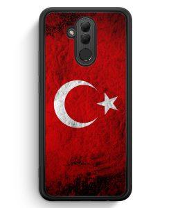 Huawei Mate 20 Lite Silikon Hülle - Türkei Splash Flagge Türkiye Turkey