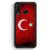 Huawei P30 Lite Silikon Hülle - Türkei Splash Flagge Türkiye Turkey