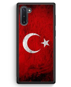 Samsung Galaxy Note 10 Silikon Hülle - Türkei Splash Flagge Türkiye Turkey