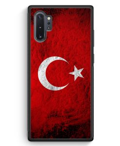 Samsung Galaxy Note 10+ Plus Silikon Hülle - Türkei Splash Flagge Türkiye Turkey