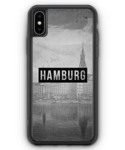 iPhone XS Max Silikon Hülle - SW Hamburg