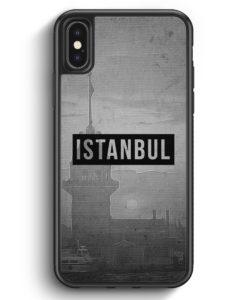 iPhone X & iPhone XS Silikon Hülle - SW Istanbul