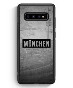 Samsung Galaxy S10 Silikon Hülle - SW München