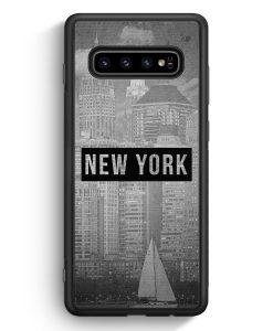 Samsung Galaxy S10e Silikon Hülle - SW New York