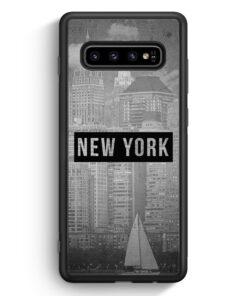 Samsung Galaxy S10 Silikon Hülle - SW New York