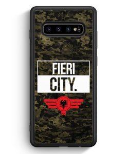 Samsung Galaxy S10e Silikon Hülle - Fieri City Camouflage Albanien