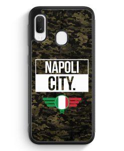 Samsung Galaxy A20e Silikon Hülle - Napoli City Camouflage Italien