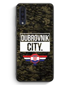 Samsung Galaxy A50 Silikon Hülle - Dubrovnik City Camouflage Kroatien
