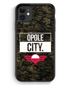 iPhone 11 Silikon Hülle - Opole City Camouflage Polen