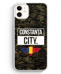 iPhone 11 Hardcase Hülle - Constanta City Camouflage Rumänien