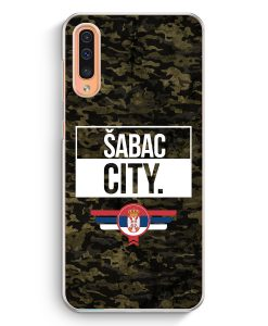 Samsung Galaxy A50 Hardcase Hülle - Sabac City Camouflage Serbien