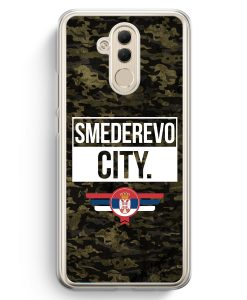Huawei Mate 20 Lite Hardcase Hülle - Smederevo City Camouflage Serbien