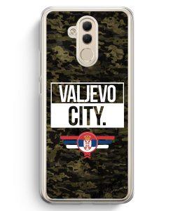 Huawei Mate 20 Lite Hardcase Hülle - Valjevo City Camouflage Serbien