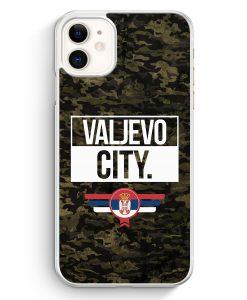 iPhone 11 Hardcase Hülle - Valjevo City Camouflage Serbien