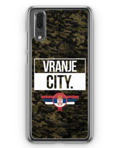 Huawei P20 Hülle Hardcase - Vranje City Camouflage Serbien