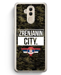 Huawei Mate 20 Lite Hardcase Hülle - Zrenjanin City Camouflage Serbien