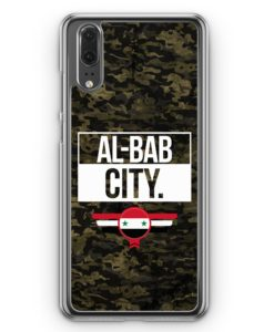 Huawei P20 Hülle Hardcase - Al Bab City Camouflage Syrien