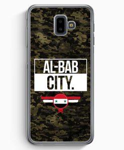 Samsung Galaxy J6+ Plus (2018) Hardcase Hülle - Al Bab City Camouflage Syrien