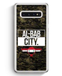 Samsung Galaxy S10+ Plus Hardcase Hülle - Al Bab City Camouflage Syrien