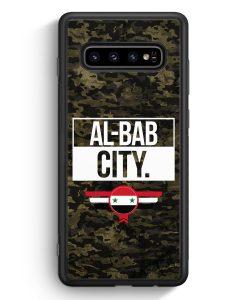 Samsung Galaxy S10e Silikon Hülle - Al Bab City Camouflage Syrien