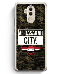 Huawei Mate 20 Lite Hardcase Hülle - Al Hasakah City Camouflage Syrien