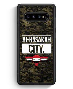 Samsung Galaxy S10e Silikon Hülle - Al Hasakah City Camouflage Syrien