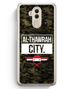 Huawei Mate 20 Lite Hardcase Hülle - Al Thawrah City Camouflage Syrien