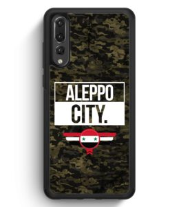 Huawei P20 Pro Hülle Silikon - Aleppo City Camouflage Syrien