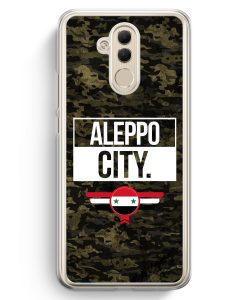Huawei Mate 20 Lite Hardcase Hülle - Aleppo City Camouflage Syrien