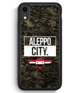 iPhone XR Silikon Hülle - Aleppo City Camouflage Syrien