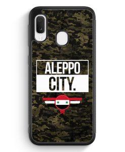 Samsung Galaxy A20e Silikon Hülle - Aleppo City Camouflage Syrien
