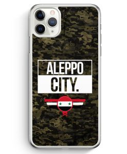 iPhone 11 Pro Max Hardcase Hülle - Aleppo City Camouflage Syrien