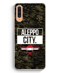 Samsung Galaxy A50 Hardcase Hülle - Aleppo City Camouflage Syrien