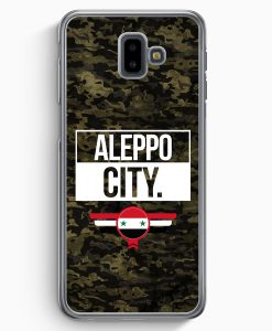 Samsung Galaxy J6+ Plus (2018) Hardcase Hülle - Aleppo City Camouflage Syrien