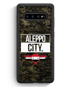 Samsung Galaxy S10e Silikon Hülle - Aleppo City Camouflage Syrien