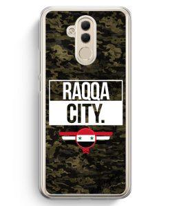Huawei Mate 20 Lite Hardcase Hülle - Raqqa City Camouflage Syrien