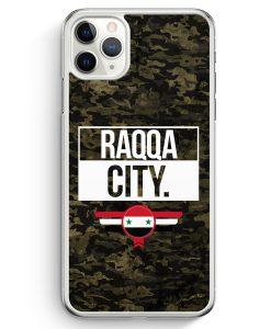 iPhone 11 Pro Max Hardcase Hülle - Raqqa City Camouflage Syrien