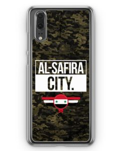 Huawei P20 Hülle Hardcase - Al Safira City Camouflage Syrien