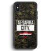 iPhone X & iPhone XS Silikon Hülle - Al Safira City Camouflage Syrien
