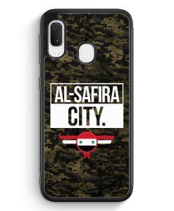 Samsung Galaxy A20e Silikon Hülle - Al Safira City Camouflage Syrien