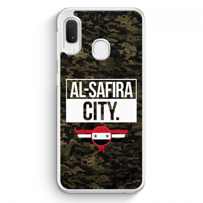 Samsung Galaxy A20e Hardcase Hülle - Al Safira City Camouflage Syrien