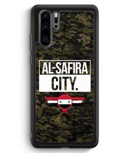 Huawei P30 Pro Silikon Hülle - Al Safira City Camouflage Syrien